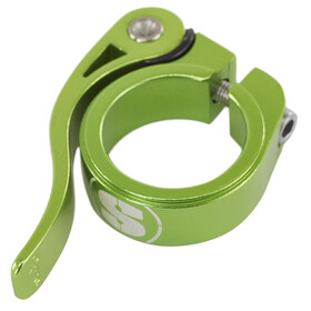 Sixpack Menace Sattelklemme 31,8mm electric-green